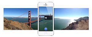 楽しすぎる!iPhone 5でパノラマ撮影。縦でも横でも。