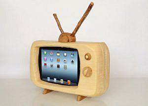 iPadを家具調レトロテレビに 他【PLATZ News】2012/10/14