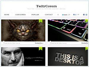 Twitterのヘッダー画像が満載「TwitterCovers」 他【PLATZ News】2012/10/06