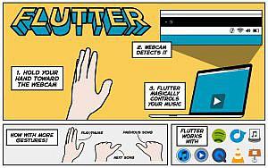 iTunesをジェスチャーで操作しよう!フリーソフト「Flutter」で仕事が捗る!