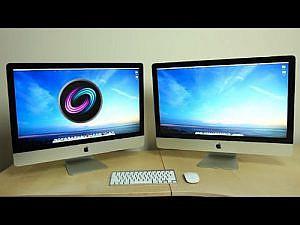 Fusion Drive搭載のiMac 27インチが爆速!非搭載機との比較動画