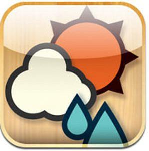 AppStoreで一番簡単な天気アプリ「おてがる天気」がアップデート!