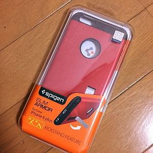iPhone 6 Plus の赤いケース。これはおすすめ!使い勝手をレビュー!